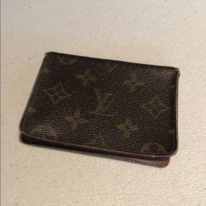 Loui Vuitton Monogram Card Holder # 62